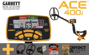 Garrett ACE 400i + Pro-Pointer AT