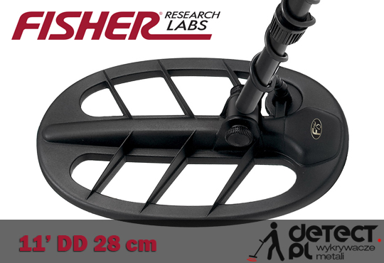 Fisher F75 LTD cewka 11 cali