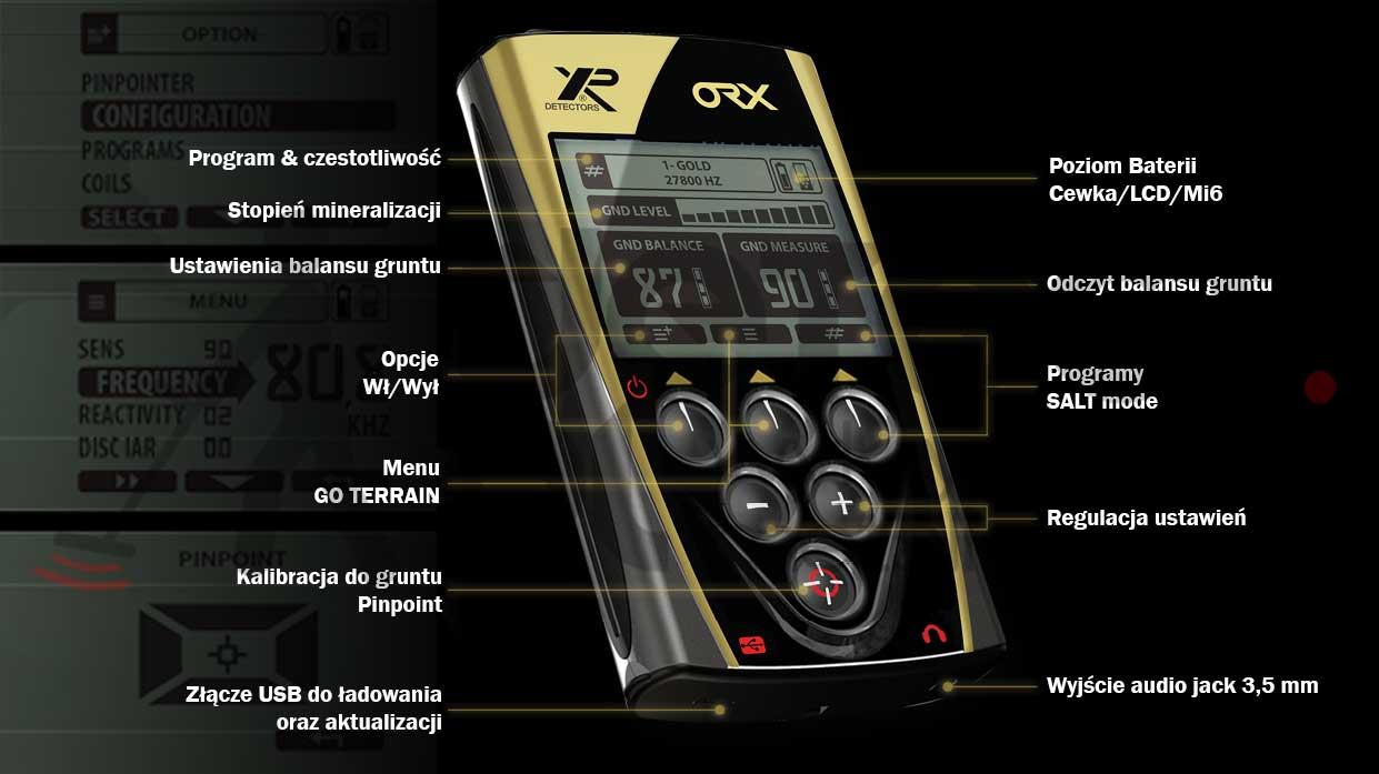 XP ORX - Panel ustawienia